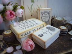 I now have listed vintage box kits that are available for sale in my Etsy shop.   Please take a moment to stop by and view them, they are e...