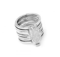 Magic Ring Cycle Hamsa Hand Bracelet and Ring