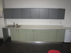 Laminated Commercial Kitchenette 2 Reception Counter, Entry Foyer, Kitchenette, Joinery, Commercial, Restaurant, Storage, Fit, Furniture
