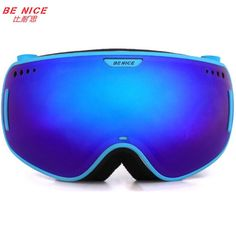 Apprehensive Polisi Winter Boys Girls Ski Goggles Kids Children Anti-fog Snowboard Glasses Uv400 Esqui Skate Mountain Skiing Snow Eyewear Sports & Entertainment Skiing Eyewear
