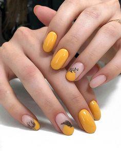 By Diana - Nageldesign - Nail Art - Nagellack - Nail Polish - Nailart - Nails beka anne - Rose Nail Design, Cute Nail Art Designs, Short Almond Nails, Almond Shape Nails, Short Nails, Classy Nails, Stylish Nails, Picasso Nails, Rose Nails