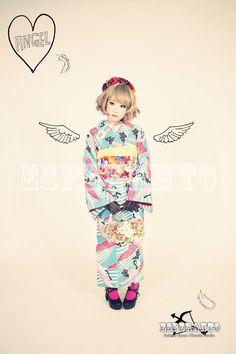 レトロモダン着物ココヒメプラン | 京都でおしゃれな着物撮影