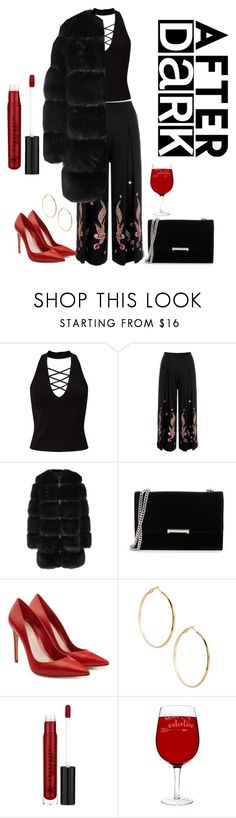 """""""hot chill..."""" by soilemezidou18 ❤ liked on Polyvore featuring Miss Selfridge, Temperley London, Givenchy, Ivanka Trump, Alexander McQueen, GUESS by Marciano, Anastasia Beverly Hills and Cathy's Concepts"""