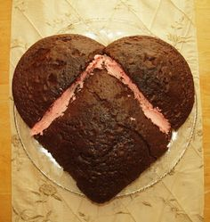 Cakes For Valentine's Day   How to Make Heart Shaped Cakes