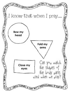 Prayer File Folder Game