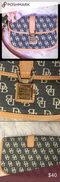 "Authentic Dooney &Bourke wristlet Nice size wristlet 4""X6.25""X1.25"". Snaps for closure. New with no tags. Bundle and save 15% off Dooney & Bourke Bags Clutches & Wristlets"