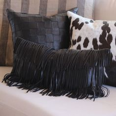 Cowboy Fringe Pillow