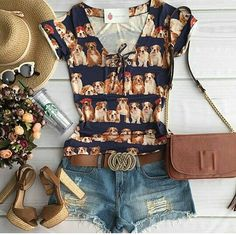 Love this shirt and those heels