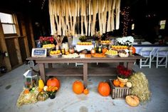 Decoration Ideas for a Fall Birthday