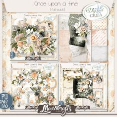Once upon a time - full pack   1 kit ( 85 elements, 14 papers) 5 quickpages 6 clusters  http://digital-crea.fr/shop/index.php?main_page=product_info&cPath=155_333&products_id=19816#.VRLDqfmG-So