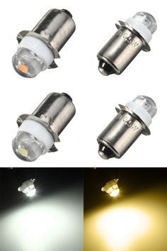 [Visit to Buy] Newest P13.5S PR2 0.5W LED For Focus Flashlight Replacement Bulb Torches Work Light Lamp 60-100Lumen Pure Warm White DC3V 6V #Advertisement
