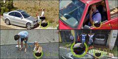 6 Foto Kocak Memalukan Tertangkap Google Street View