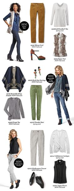 cabi's Spring into Fall collage!  What's not to love! jeanettemurphey.cabionline.com - Open 24/7