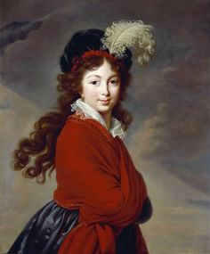 Grand Duchess Anna Feodorovna, née Princess Juliane Henriette Ulrike von  Saxe-Coburg-Saalfeld later consort of Grand Duke Constantine 1795-96,  Pushkin Museum, Moscow