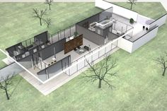Mies van der Rohe  Casa Hubbe  1935  Arch  Pinterest  Vans Architecture and House