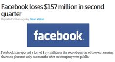 Facebook !  It's hard to imagine that the company that made social media a new format #technology.