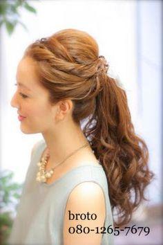 二次会 髪型 ロング - Google 検索