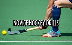 5 Novice Hockey Drills For Fast Improvements