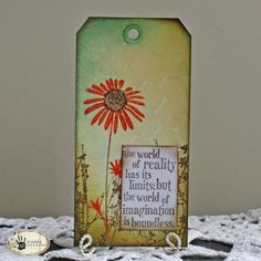 Sunday Stamping: Imagination is Boundless — Tammy Tutterow Designs