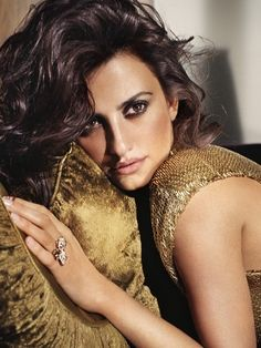 Penelope Cruz-mostly for her Spanish movies
