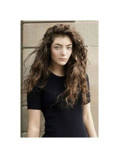 Lorde in Elle Magazine  Photo by Charles Howells
