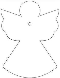 Výsledek obrázku pro andělská křídla šablona
