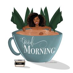 """Glam Marks Illustration on Instagram: """"Friendly reminder to set a time in your calendar for tomorrow morning to take some time to yourself. 😌🤎 ☝🏾Let's not normalized overworked,…"""" Morning Board, Good Morning, Morning Blessings, Some Times, Dope Art, Black Girl Magic, Calendar, Let It Be, Photo And Video"""