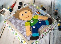 Felt book Bussy book quiet book felt toy smart book for Toddler Toys, Baby Toys, Baby Quiet Book, Felt Quiet Books, Crafts For Boys, Books For Boys, Busy Book, Sensory Toys, Cute Toys