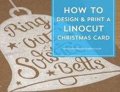 Go behind the scenes of my latest print and learn how to design and print a linocut Christmas card to impress your friends and clients!