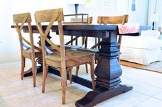 Light Walnut Finish French Bistro Side Chairs, Set of 2 | World Market