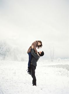Perfect #love in winter #snow