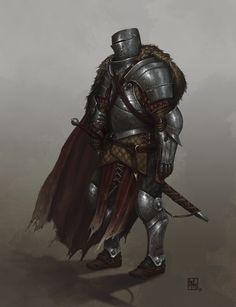 ArtStation - Knight Errant, David Escribano Herrero