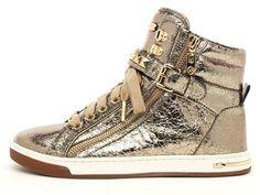 Michael Kors Metallic Glam Studded High-Top