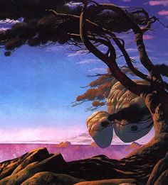 Roger Dean is probably the most successful sf artist through work with Yes music group and as a cinematographer.