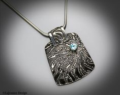 sterling silver pmc necklace