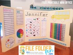 What is a Mini Office? A Mini Office is basically a custom built learning resource for your student.  The goal of a mini-office is to serve as a self led reference chart for children, freeing up ti...