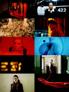 Cinematography by Larry Smith from Only God Forgives another neo noir starring Ryan Gosling. Something I do really like about neo noir is how the colours in shot contrast such as top right with the black and white of the scene or the scene is all one colour as I feel the use of lights creates a much more striking image and gives the scene more of a mood.