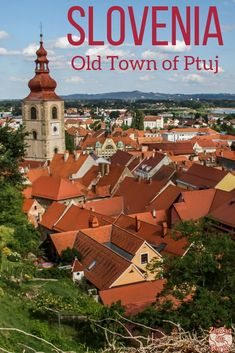 Slovenia Travel Guide - Discover the oldest town recorded in Slovenia: Ptuj in te east of the country. Charming street and a Castle museum with amazing views! | #slovenia #Ifeelslovenia | Slovenia itinerary | Slovenia road trip | Things to do in Slovenia