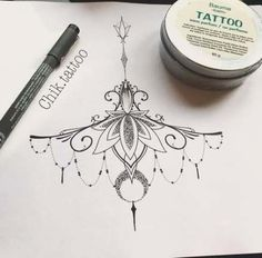 Tattoo moon sternum posts 37 ideas for 2019 – floral tattoo sleeve Women Sternum Tattoo, Lotusblume Tattoo, Tattoos 3d, Feather Tattoos, Foot Tattoos, Flower Tattoos, Body Art Tattoos, Underboob Tattoo, Tattoo Moon
