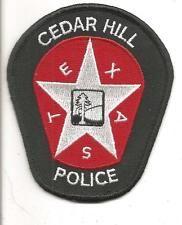CEDAR HILL TEXAS POLICE PATCH
