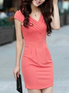 136 elegant clothes you will want to keep – page 23 Casual Dresses, Short Dresses, Fashion Dresses, Dresses For Work, Dresses Dresses, Women's Casual, Dresses Online, Blouse Dress, Dress Skirt