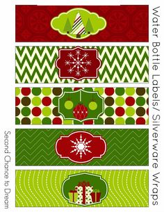 Lots of festive Christmas Party Printables to make your holiday parties merry!