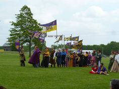 SCA banners and standards
