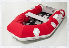 Protect your inflatable dinghy from UV rays and chafe with dinghy chaps. Make your own using this tutorial. #sailing #boating