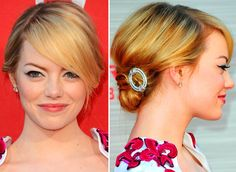 Emma Stone_hair and makeup_Spiderman_LA
