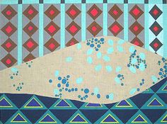 """New Zecca needlepoint canvas -- Diamonds in the Sky. 13 or 18 mesh, 12"""" x16"""" -- love it!"""