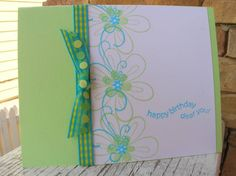 Friendship Blooms CAS by calmag - Cards and Paper Crafts at Splitcoaststampers
