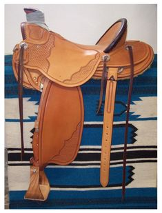 Custom handmade saddles including wades we have made. View various styles and hand tooling on custom saddles. Wade Saddles, Roping Saddles, Horse Saddles, Leather Carving, Leather Tooling, Cowboy Gear, Charro, Leather Craft Tools, Golf Bags