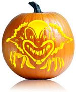 Free Pumpkin Patterns | Scary clowns, Scary and Patterns