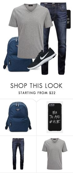 """P - D7"" by teacupunicorn ❤ liked on Polyvore featuring Superdry, Jack & Jones, Joseph, NIKE, men's fashion and menswear"